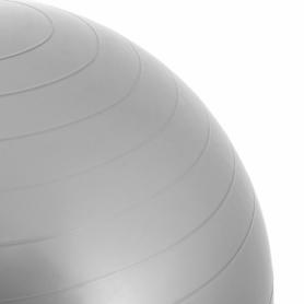 Мяч для фитнеса (фитбол) 75 см Springos Anti-Burst Grey (FB0008) - Фото №6