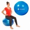 Мяч для фитнеса (фитбол) 85 см Springos Anti-Burst Blue (FB0009) - Фото №4
