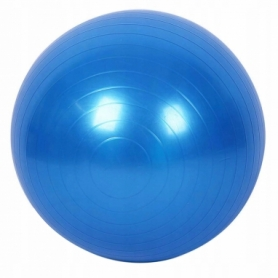 Мяч для фитнеса (фитбол) 85 см Springos Anti-Burst Blue (FB0009) - Фото №6