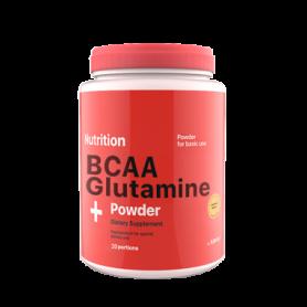 Аминокислота AB PRO ВСАА + Glutamine Powder (ABPR3004) - клубника, 236 г