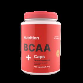 Аминокислота AB PRO ВСАА Caps (ABPR12), 400 капсул