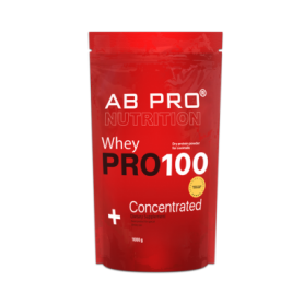 Протеин AB PRO PRO 100 Whey Concentrated (ABPR20039) - банан, 1000 г