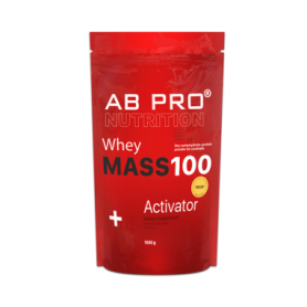 Гейнер AB PRO MASS 100 Whey Activator (ABPR10040) - шоколад, 1000 г