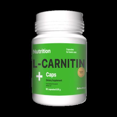 Жиросжигатель EntherMeal L-Carnitine (ABPR61), 60 капсул