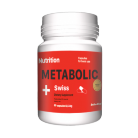 Витамины EntherMeal Metabolic Swiss (ABPR75), 60 капсул