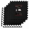 Мат-пазл (ласточкин хвост) Springos Mat Puzzle EVA (FM0004), 120 x 120 x 1.2 cм
