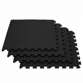 Мат-пазл (ласточкин хвост) Springos Mat Puzzle EVA (FM0004), 120 x 120 x 1.2 cм - Фото №5