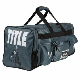 Сумка спортивная Titlte Boxing Deluxe 2.0 (FP-7179), серая