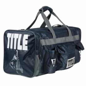 Сумка спортивная Titlte Boxing Deluxe 2.0 (FP-7180), темно-синяя