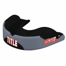 Капа TITLE Gel Enforce Серая с черным (Для взрослых)