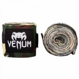 Бинты боксерские эластичные Venum Original Kontact Хаки, 2 шт. по 4 м