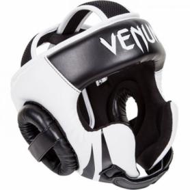 Шлем боксерский Venum Challenger 2.0 Hook & Loop, черный с белым