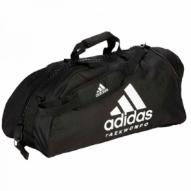 Сумка-рюкзак Adidas 2in1 Bag Nylon, adiACC052 (FP-7532) - черно-белая, 65 л
