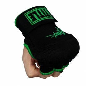 Бинт-перчатки TITLE Boxing Attack Nitro Speed Wraps (FP-7547-V) - черные