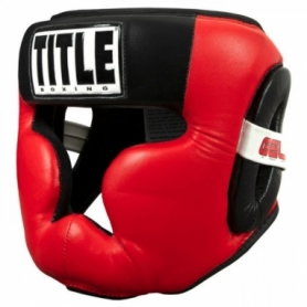 Шлем боксерский TITLE GEL Rediate Full Trening (FP-7740-V)