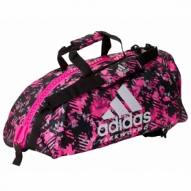 Сумка-рюкзак Adidas 2in1 Bag Nylon, adiACC052 (FP-7830) - розовая, 50 л