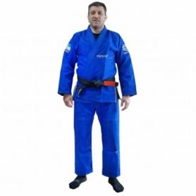 Кимоно для бразильского джиу-джитсу FirePower Ukraine голубое (FP-8014-1)