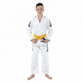 Кимоно детское для бразильского джиу-джитсу Tatami Fightwear Kids Dweller белое (FP-8183-1)