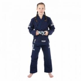 Кимоно детское для бразильского джиу-джитсу Tatami Fightwear Kids Dweller синее (FP-8184-1)