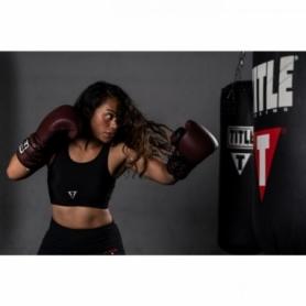 Перчатки боксерские TITLE Boxing Ali Authentic Leather Lace Training (FP-8458-V) - Фото №4