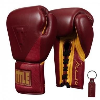 Перчатки боксерские TITLE Boxing Ali Limited Edition Sparring (FP-8474-V)