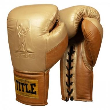 Перчатки боксерские TITLE Boxing Ali Limited Edition Comeback Sparring (FP-8484-V)