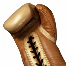 Перчатки боксерские TITLE Boxing Ali Limited Edition Comeback Sparring (FP-8484-V) - Фото №3