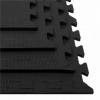 Мат-пазл Springos Mat Puzzle EVA FM0001 120 x 120 x 2 cм, черный - Фото №3