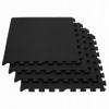 Мат-пазл Springos Mat Puzzle EVA FM0001 120 x 120 x 2 cм, черный - Фото №4
