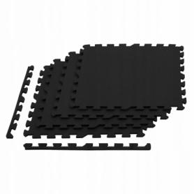 Мат-пазл Springos Mat Puzzle EVA FM0001 120 x 120 x 2 cм, черный - Фото №5