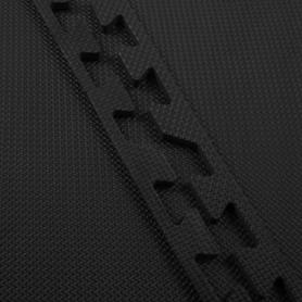Мат-пазл Springos Mat Puzzle EVA FM0001 120 x 120 x 2 cм, черный - Фото №8