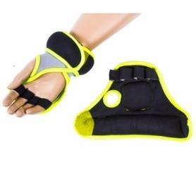 Перчатки с утяжелителем IronMaster (IR97814G) - салатовые, 2 шт по 0.5 кг