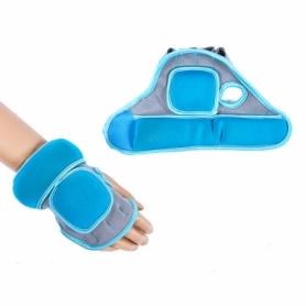 Перчатки с утяжелителем IronMaster (IR97814B) - голубые, 2 шт по 0.5 кг