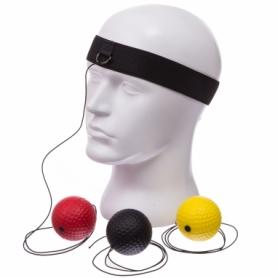 Тренажер для бокса с тремя мячами fight ball Combat Budo (BO-1659)