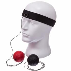 Тренажер для бокса с двумя мячами fight ball Combat Budo (BO-1660)