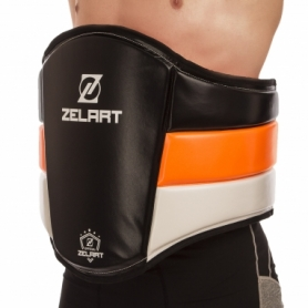 Пояс тренера кожаный Zelart (BO-1975)