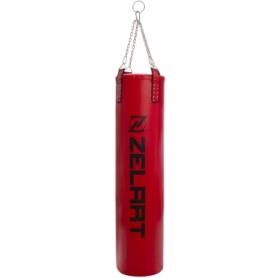Мешок боксерский PU Zelart (BO-1979) с цепью, h-180см