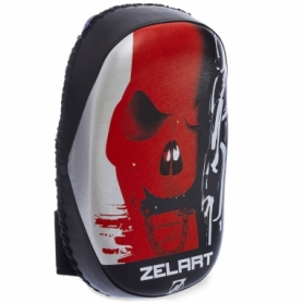 Макивара тай-пэд  Zelart BO-1318, черно-красная