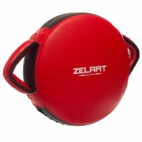 Макивара круглая Zelart BO-1359, красная