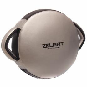 Макивара круглая Zelart BO-1359, серебряная