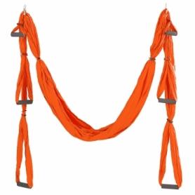 Гамак для йоги ZLT Antigravity Yoga swing FI-5323 оранжевый