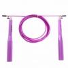 Скакалка скоростная Zelart FI-5100 фиолетовая