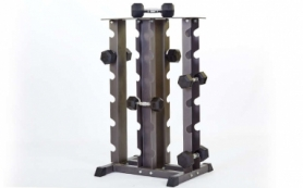 Стойка четырехсторонняя для гантелей York RK2128