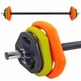 Штанга для фитнеса (фитнес памп) Zelart (FI-5330), 20кг