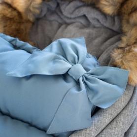 Детский конверт для коляски, санок 4 в 1 Springos SB0001 Blue - Фото №5