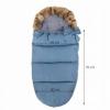 Детский конверт для коляски, санок 4 в 1 Springos SB0001 Blue - Фото №10