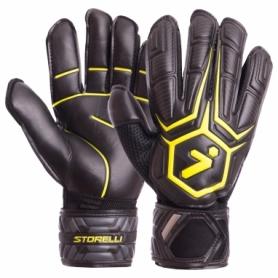 Перчатки вратарские Storelli FB-905 черно-желтые