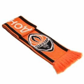 Шарф зимний для болельщиков двусторонний Soccer Шахтер FB-5770, оранжевый