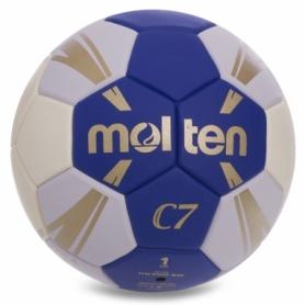 Мяч гандбольный Molten H1C3500 синий, №1