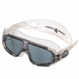 Очки-полумаска для плавания MadWave Sigyt II серые (M046301_GR-WHT)